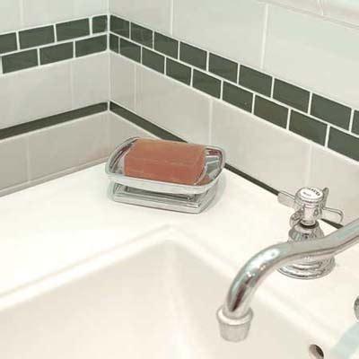 Subway tiles bathroom tile on bath windows zimbio