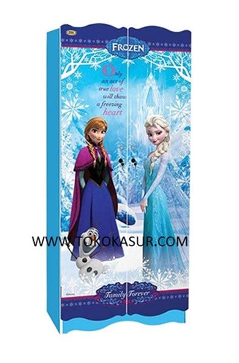 Rak Piring Frozen lemari frozen 2 pintu ff toko kasur bed murah