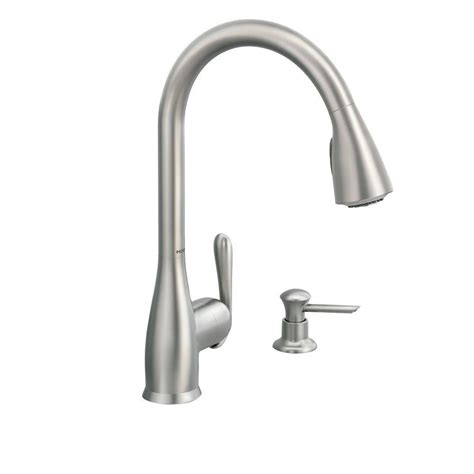 moen haysfield kitchen faucet moen 87877srs haysfield pull down sprayer kitchen faucet