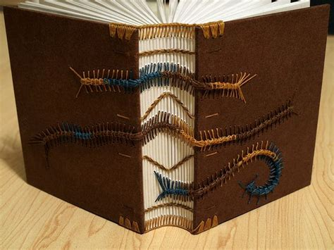 Handmade Bookbinding - top 10 coptic stitch binding tutorials on the