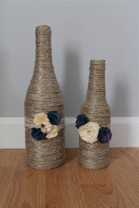 bottiglie  bicchieri decorati images  pinterest