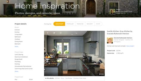 porch brings houzz like inspiration feature to its home