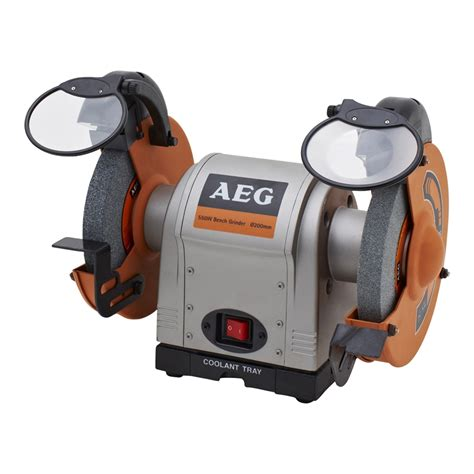 what is a bench grinder aeg 550w 200mm bench grinder bunnings warehouse
