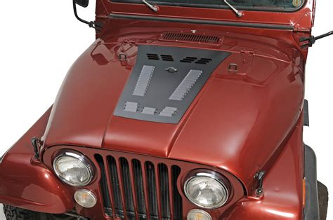 louvers for jeep hyline offroad louvered panel for 76 86 jeep 174 cj 5