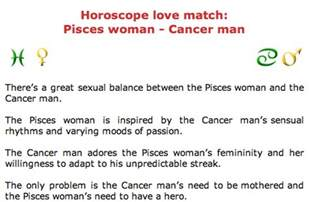pisces and cancer compatibility pisces world