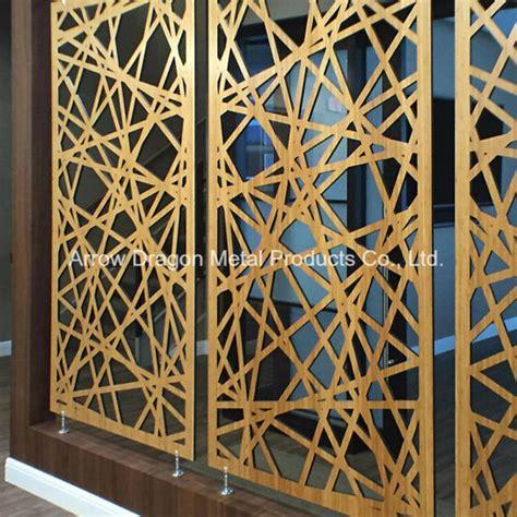 decorative panel room divider china laser cut decorative metal screen panel room divider