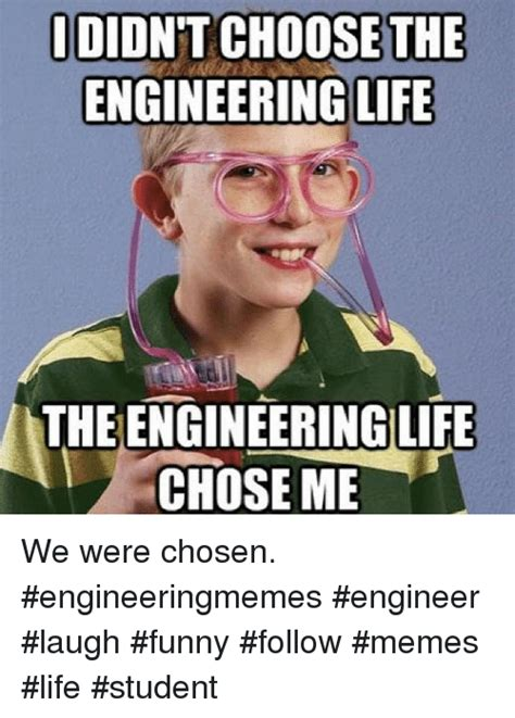 Engineers Meme - idid choose the engineering life theengineeringilife chose