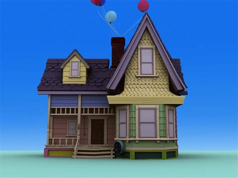 up house pixar up house up house copyrighted to pixar model is copyright flickr