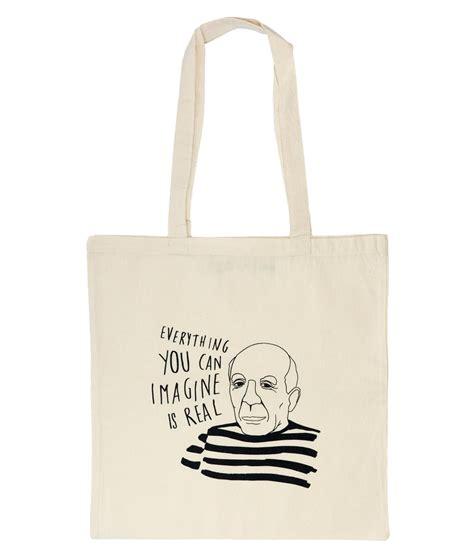 Omg Tote Bag picasso totebag omg bcn inspired made in barcelona