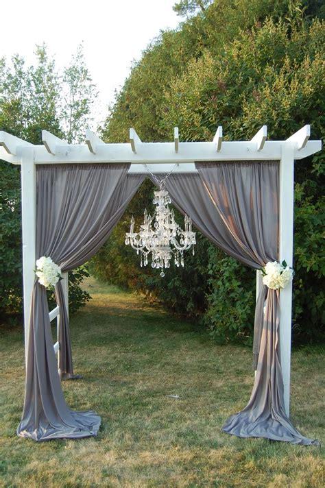 Wedding Pergola Arch Help Weddingbee Pergola Wedding Decorations
