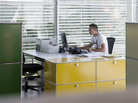 Usm Desk by Usm Haller Table For Shared Workstations Office Desk By Usm Modular Furniture Design Fritz Haller