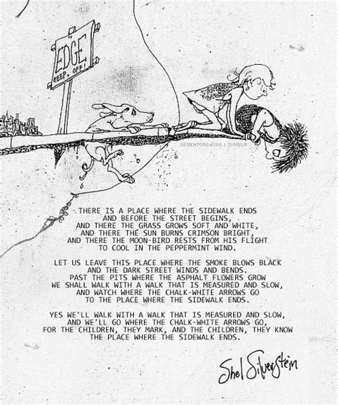 libro where the sidewalk ends where the sidewalk ends my favorite poem of all time