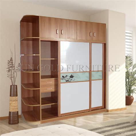 china modern sliding door wardrobe  hang cabinet sz