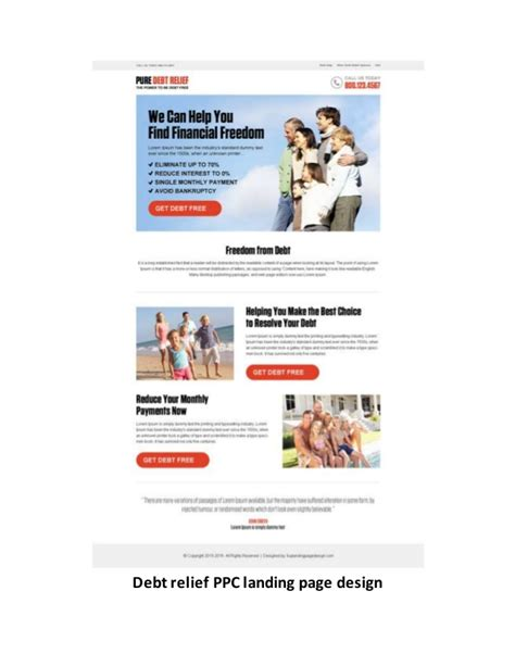 Pay Per Click Landing Page Design Templates Exles For Inspiration Ppc Landing Page Templates