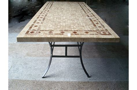 Marble Top Patio Table 78 Quot Outdoor Patio Dining Table Italian Mosaic Marble Tuscany