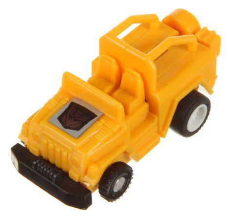 transformers g1 jeep mini spies jeep yellow decepticon transformers g1