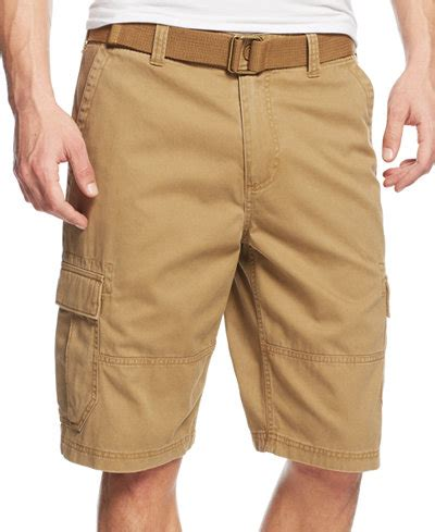 Cargo Us Army Levi S Uniqlo Calvin Klein Alpha Adidas Jacket american rag s belted relaxed cargo shorts created