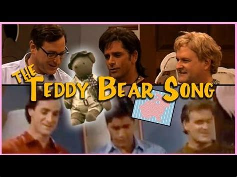 teddy from full house full house then and now the teddy bear song youtube