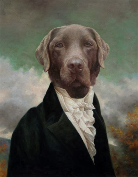 puppies puppies artist thierry poncelet style portraits artists