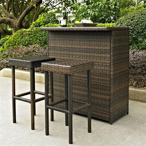 Discount Outdoor Patio Furniture Fantastic Discount Espresso Rattan Patio Furniture Set For Outdoor Restaurant Fantastic