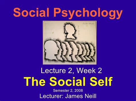 social selves social self