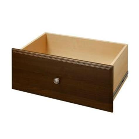 Drawer Kits Home Depot by Martha Stewart Living 12 In X 24 In Espresso Deluxe