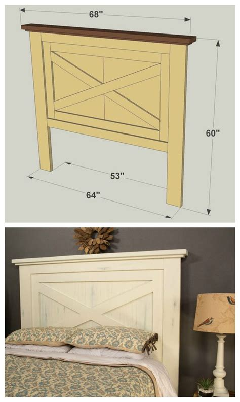diy farmhouse headboard diy headboard project ideas the idea room