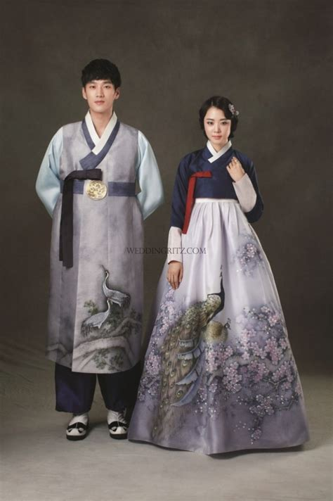 traditional korean korea pre wedding photo korean traditional clothes