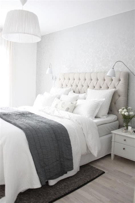 Concept Ideas For Grey Tufted Headboard Design 25 Best Ideas About Grey Tufted Headboard On Pinterest White Bedding Decor White Bedroom