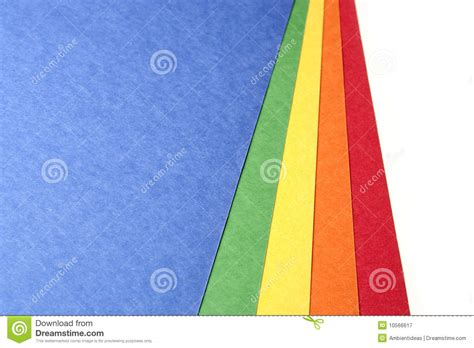 Colored Craft Paper - bright color craft paper royalty free stock photography