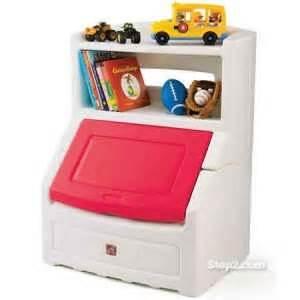 Step 2 Bookshelf Step 2 Toybox Amp Bookshelf The Toy Box Pinterest