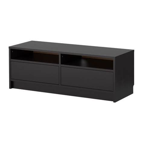 black tv bench benno tv bench black brown ikea apartment ideas