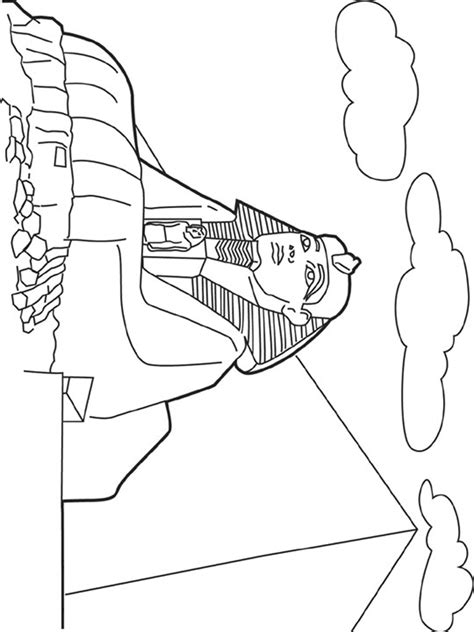 Sphinx Coloring Page Seven Wonders Of The World Coloring Pages Coloring Pages by Sphinx Coloring Page