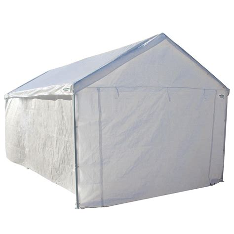 Portable Canopy With Sides Portable Canopy Garage Side Wall Kit Carport 10 X 20 Big