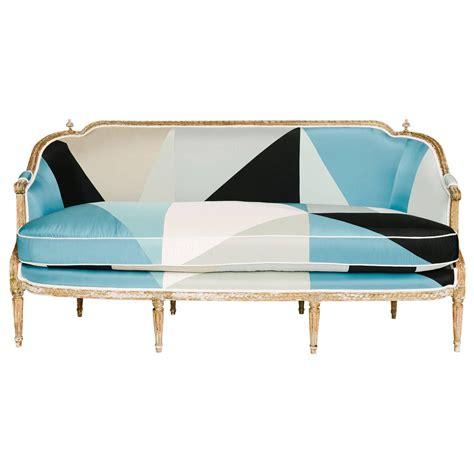19th century sofa styles 19th century louis xvi style miles redd cubist silk sofa