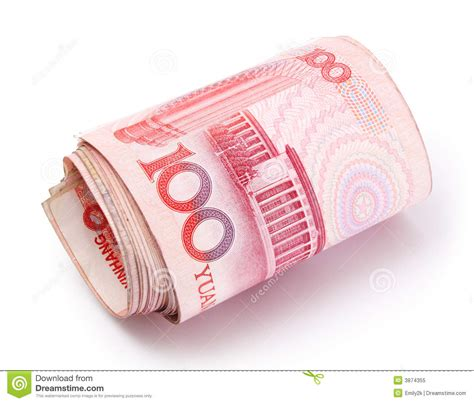 roll of roll of renminbi royalty free stock photo image 3874355