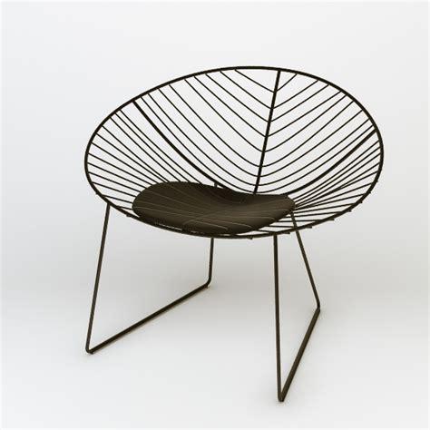 Armchair Arper Leaf Lounge Chair 3d Models Furnishings