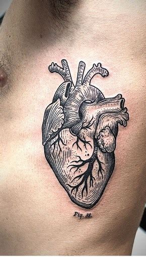 male heart tattoo designs 60 beautiful tattoos with meanings