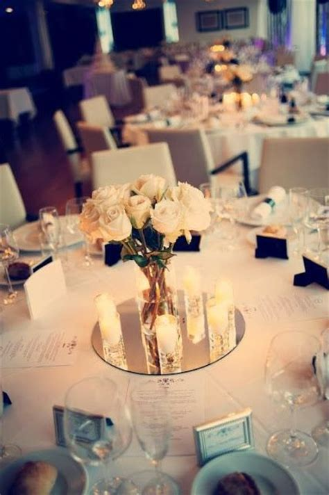wedding centerpiece mirrors 25 great ideas about wedding table centerpieces on
