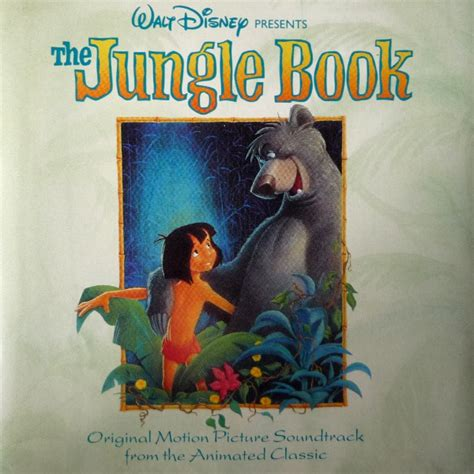 the motion picture book various the jungle book original motion picture