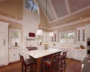 Vaulted Kitchen Ceiling Ideas by Cathedral Ceiling