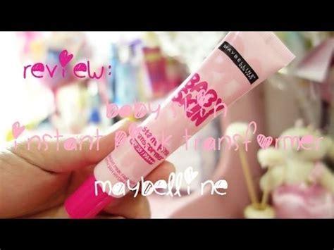 Maybelline Baby Skin Pink Transformer cehl s product review maybelline baby skin instant pink