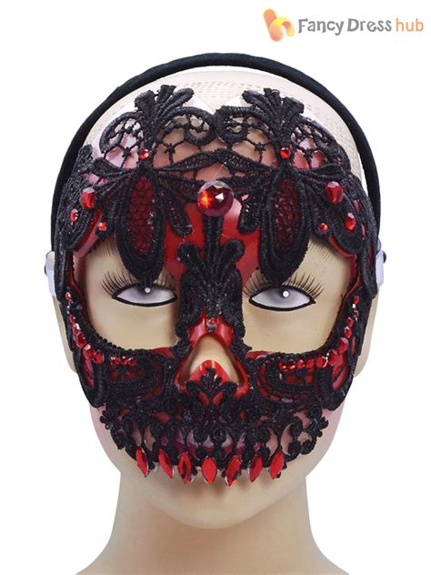 day of the dead sugar skull halloween mask sugar skull day of the dead lace mask ladies halloween