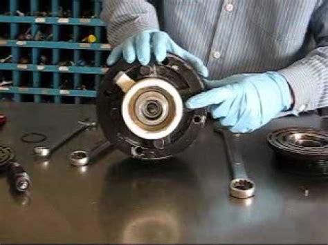 ac compressor clutch replacement