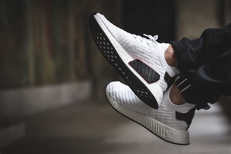 Adidas Nmd R2 Black White Adidas Nmd R2 Primeknit White Black By3015 Sneaker Bar