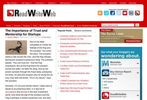 tech blogs 10 tech blogs web designers should be reading web design