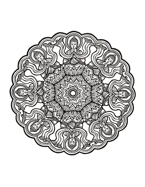 mystical mandala coloring pages free best mandala coloring book miss adewa 5f1492473424