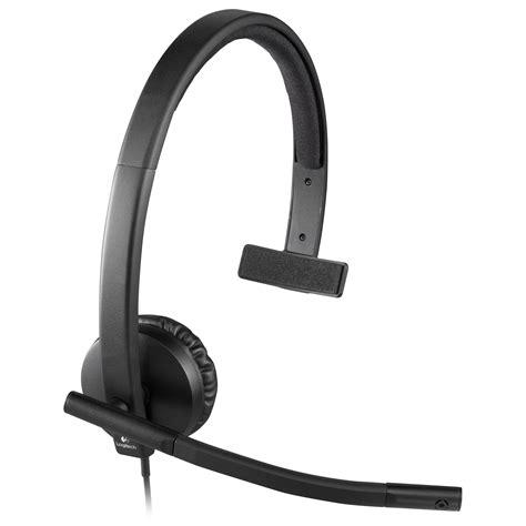 Original Logitech Headset Ltsk08bk logitech usb mono h570e headset brand new original packaging ebay