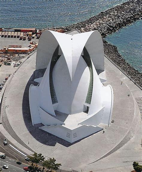 Top View Floor Plan auditorio de tenerife spanien