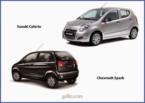 Suzuki Celerio Vs Chevrolet Spark 191 Qu 233 Es El Segmento A En Los Autos Motorsports